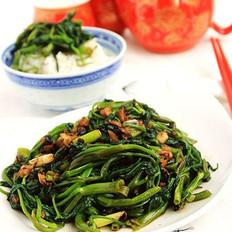 豆豉蒜蓉空心菜的做法