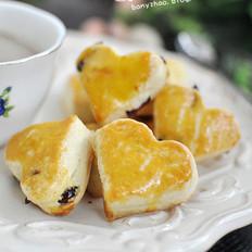 蔓越莓奶油司康的做法