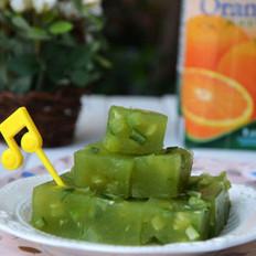 黄瓜冻糕的做法