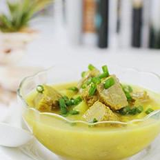 金色牛肉浓汤的做法