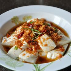 肉松拌豆腐的做法