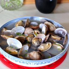 清汤蛤蜊的做法