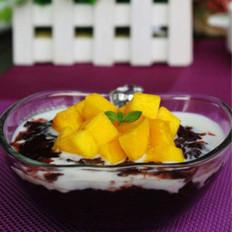 芒果紫米捞