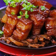 干豆角烧肉的做法