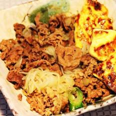 牛肉丼饭的做法