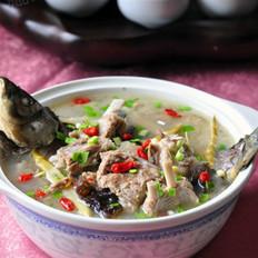 羊排鯽魚湯的做法