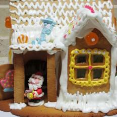 圣诞糖果屋的做法