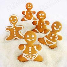 圣诞姜饼干的做法