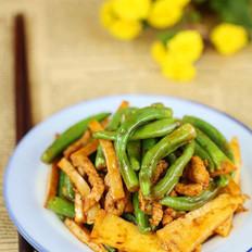 冬笋肉丝炒杭椒的做法