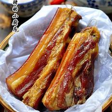 自制湖南烟熏腊肉的做法