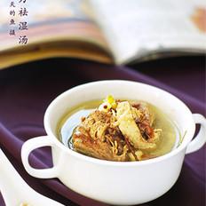薏米鸡骨草茯苓煲老鸭的做法