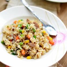飘香烩肉炒饭的做法