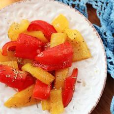 彩色腌甜椒