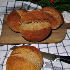 板栗亚麻籽面包