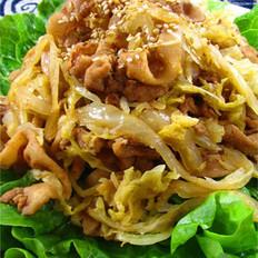 东北泡菜烤肉的做法