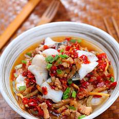榨菜肉丁剁椒鱼