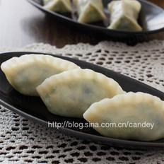 豆角榨菜素蒸饺