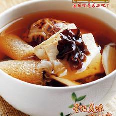 菌菇豆腐幸福炖