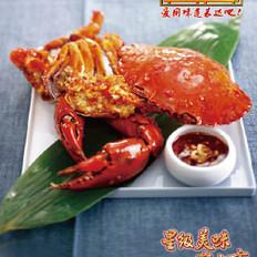 大展宏图香辣蟹的做法