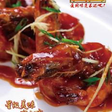 甜甜蜜蜜大明虾的做法