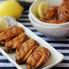 柠香锡纸包烤鸡翅   的做法