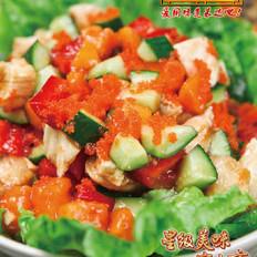 木瓜鸡肉闹新春 的做法