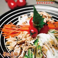 玉树临风拌菜丝 的做法