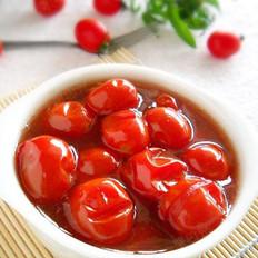 红酒渍番茄果的做法