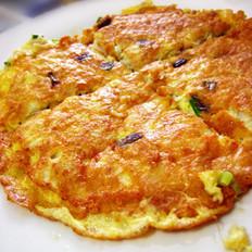 蟹肉摊鸡蛋的做法