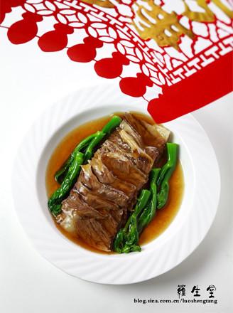 红扒牛肉条的做法