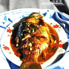 红烧三道鳞鱼的做法