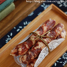 广式香肠的做法