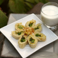花样蛋蔬卷饼的做法