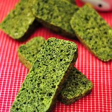 蒜香菠菜发糕的做法