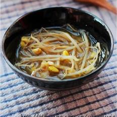 韩式豆芽汤 的做法