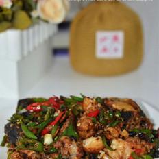 青椒炒鱼头