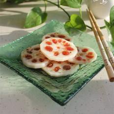 桂花山楂藕 的做法
