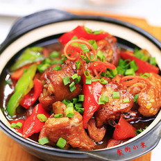 豆瓣酱烧鲜鸡的做法