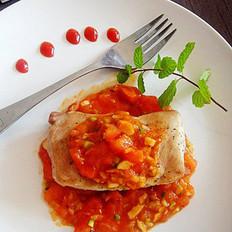 烤番茄通脊肉的做法