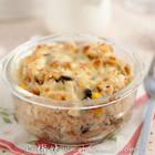 芝士蘑菇焗饭