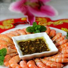 清蒸虾 的做法