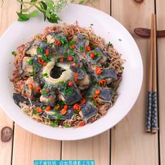萝卜皮丝蒸鳗鱼的做法