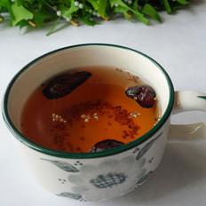 藜麦焦枣茶的做法