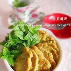 脆煎藕餅的做法