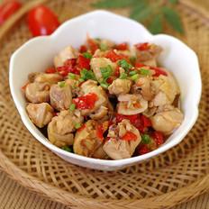 剁椒炒鸡丁的做法