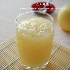 柚子鲜梨饮的做法