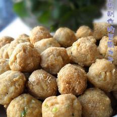 黑椒豆腐丸子的做法
