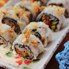 金枪鱼翻转寿司的做法