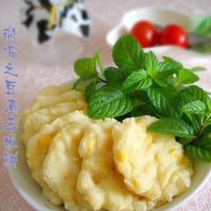 豆渣玉米饼
