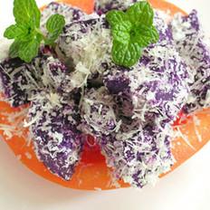 紫薯奶酪泥